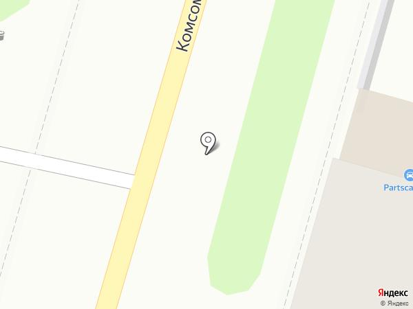 Оливия на карте Тулы