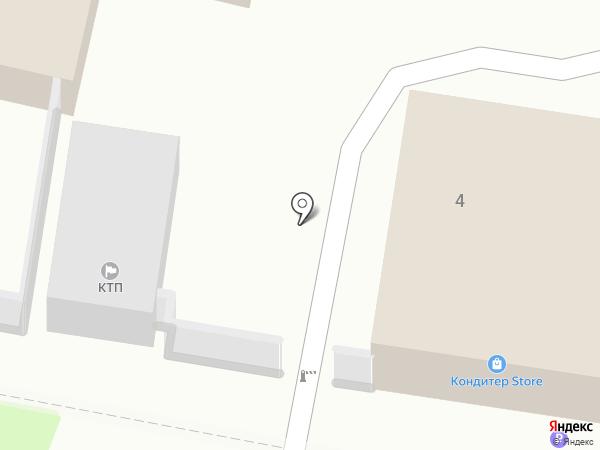 Корина на карте Тулы