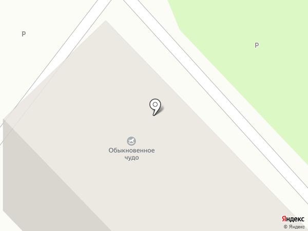 Обыкновенное чудо на карте Москвы