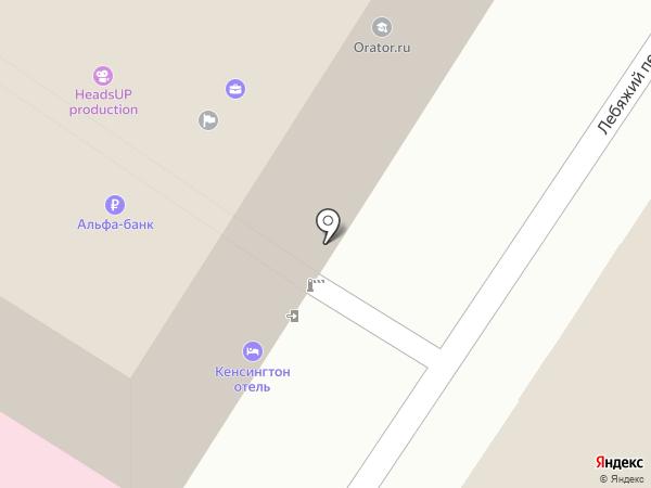 Городской стиль на карте Москвы