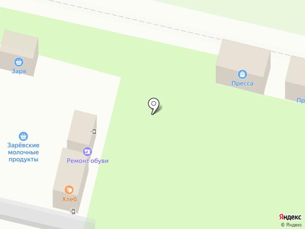 Сеть киосков по продаже печатной продукции на карте Тулы