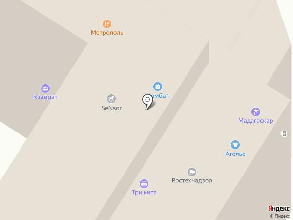 Комбат на карте Тулы