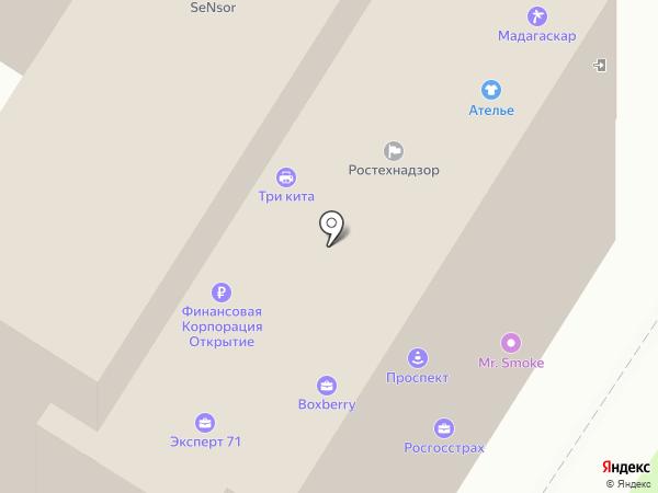 ОптЦветТорг на карте Тулы