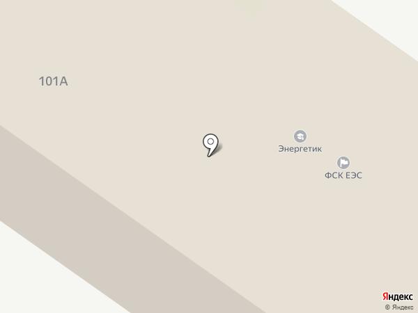 Энергетик на карте Тулы