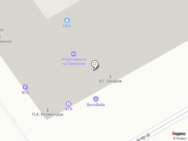 Платежный терминал, ВТБ Банк Москвы, ПАО Банк ВТБ на карте Москвы