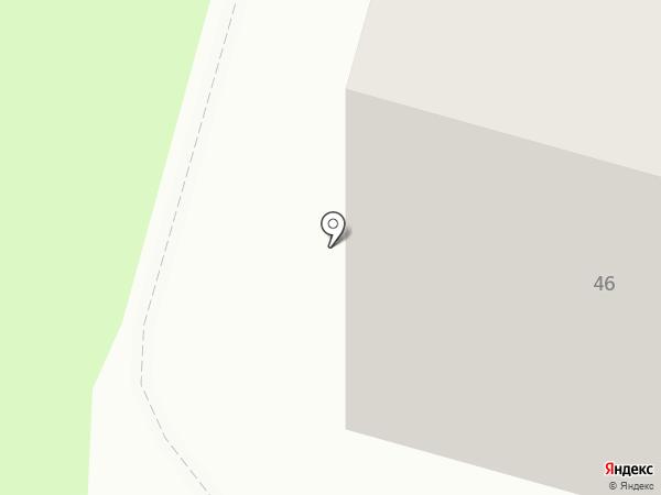 Радужная на карте Тулы