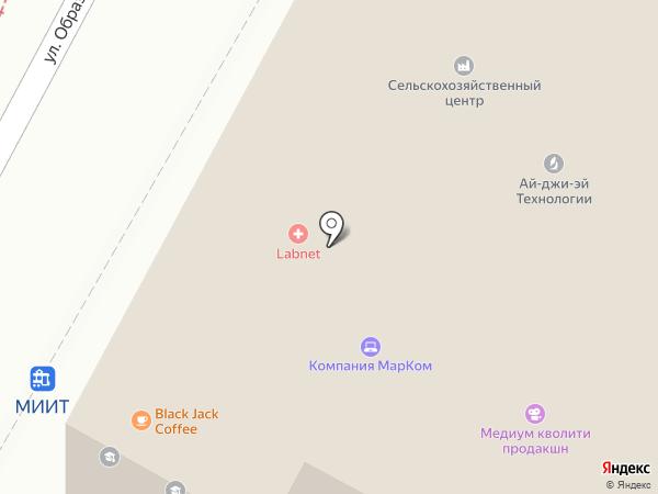 Московский Свинг Данс Клуб на карте Москвы