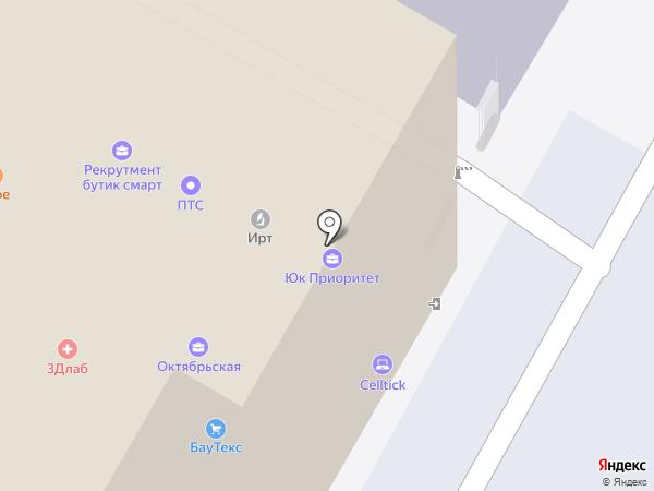 Товстрой на карте Москвы