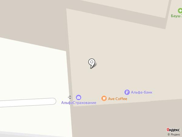 Сервисно-визовый центр Швеции на карте Москвы