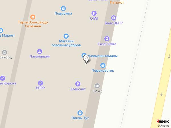 ДОГОВОР №1 на карте Москвы