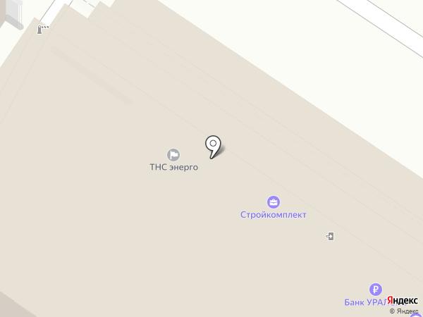 Яна на карте Тулы