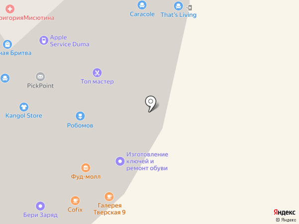 Академия развития туризма на карте Москвы