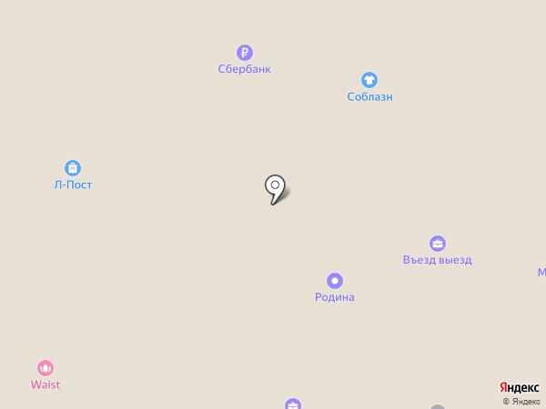 ТОРНАDО на карте Москвы