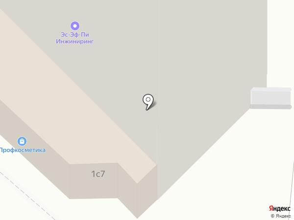Будуар на карте Москвы