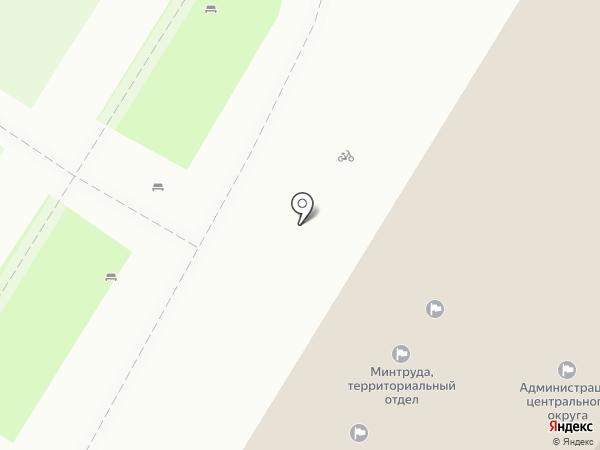 Главное Управление администрации г. Тулы по Центральному территориальному округу на карте Тулы