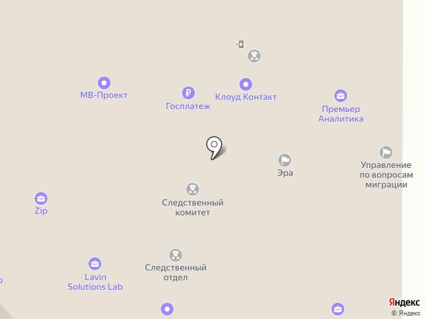 МВ-Проект на карте Москвы