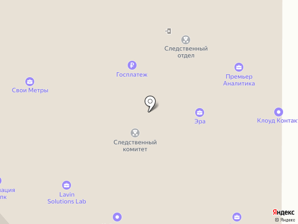 GlamExpress на карте Москвы