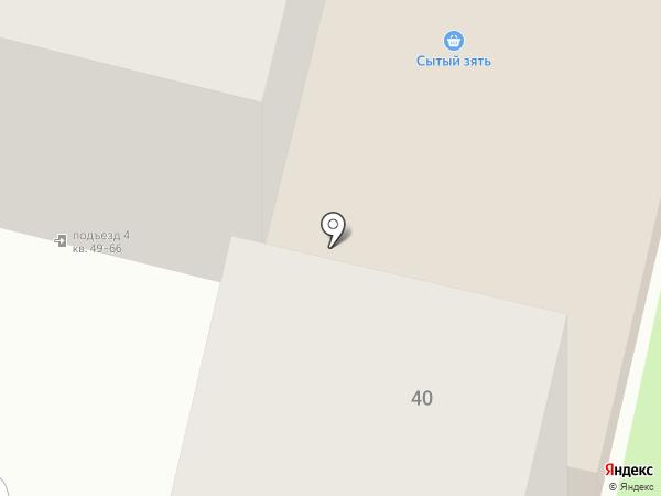 Ника на карте Тулы
