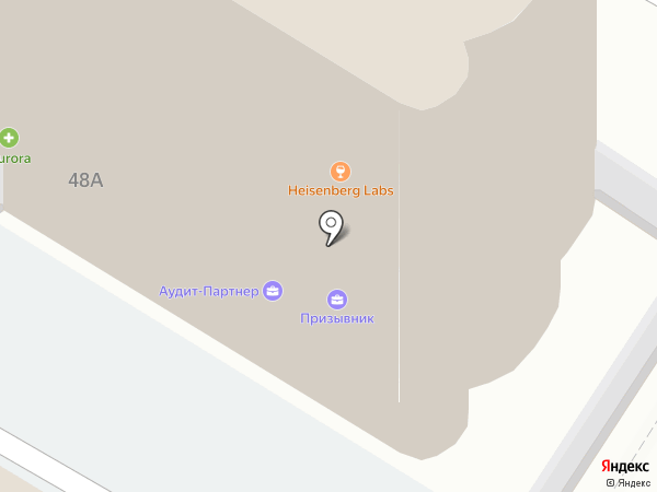 ГЕОПОЛИС, САО на карте Тулы