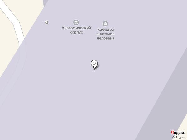 Люси-А на карте Москвы