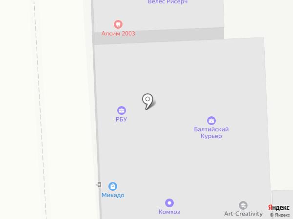 Digital master на карте Москвы