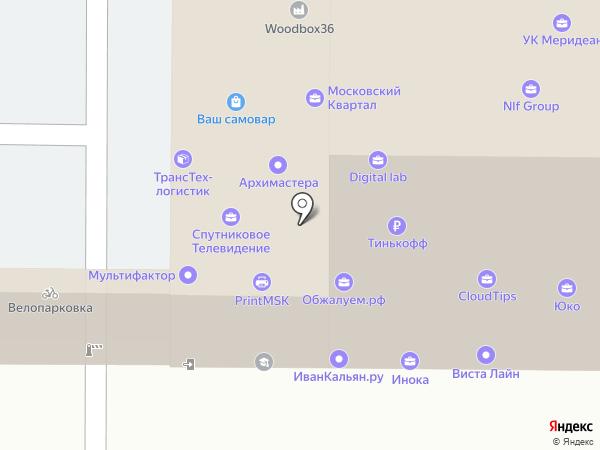 Ай Ти Квартал на карте Москвы