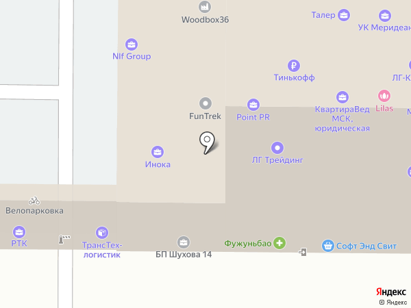 SLS Group на карте Москвы