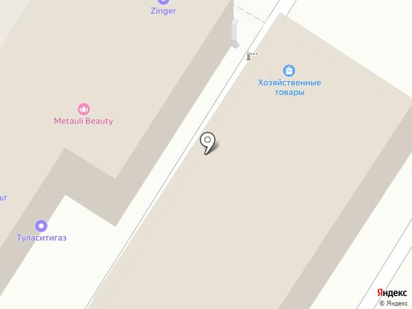 АвтоСтиль на карте Тулы