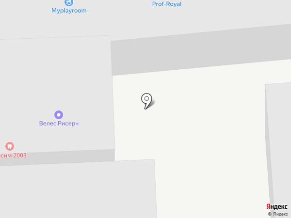 Партнер-Элит на карте Москвы