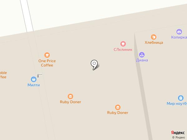 Сильвия на карте Москвы