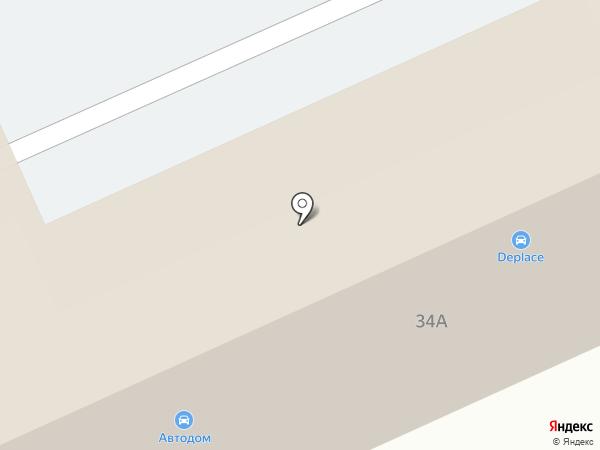 AutoSPA на карте Тулы