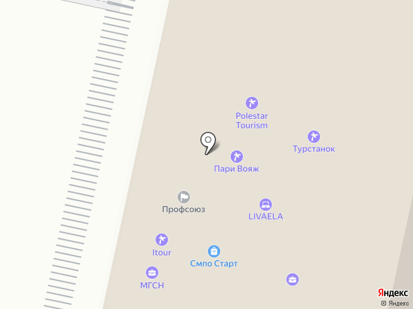 Взбодрись на карте Москвы