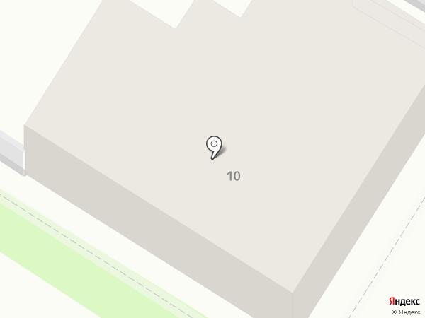 Union на карте Тулы
