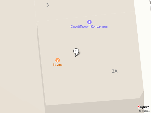 Делатон на карте Тулы