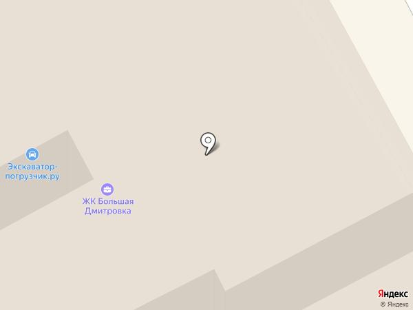Дабл Би на карте Москвы