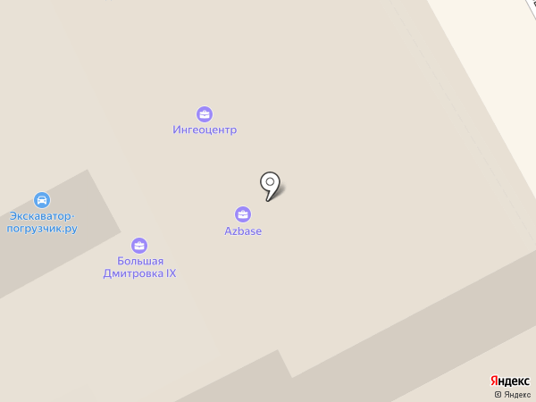ХРОНОС на карте Москвы