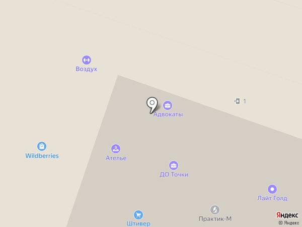Сервис бюро на карте Москвы