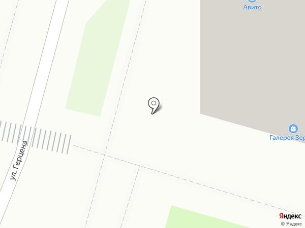 Пивась на карте Тулы