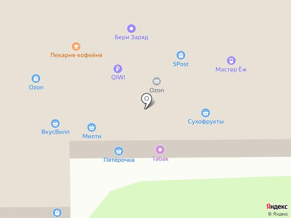 Магазин текстиля для дома на карте Москвы