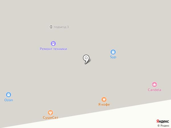 Новострой-Комфорт на карте Боброво
