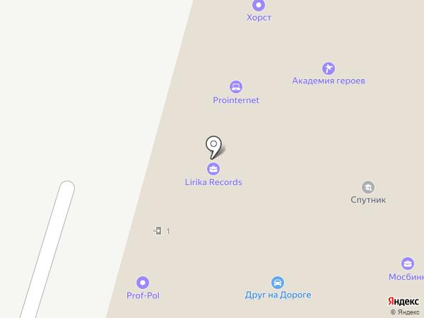 Пражский на карте Москвы