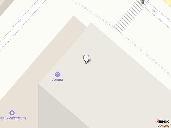 Элика на карте Москвы