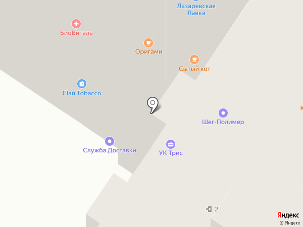 Daydream на карте Тулы