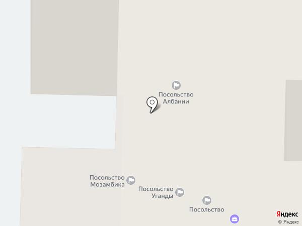 Посольство Республики Эль-Сальвадор в РФ на карте Москвы