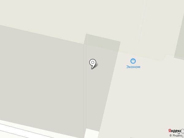 Экономстрой на карте Тулы