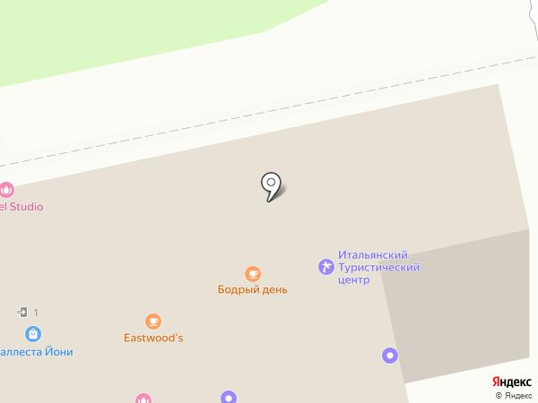 Брованни на карте Москвы