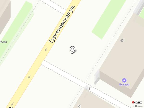Д-класс на карте Тулы