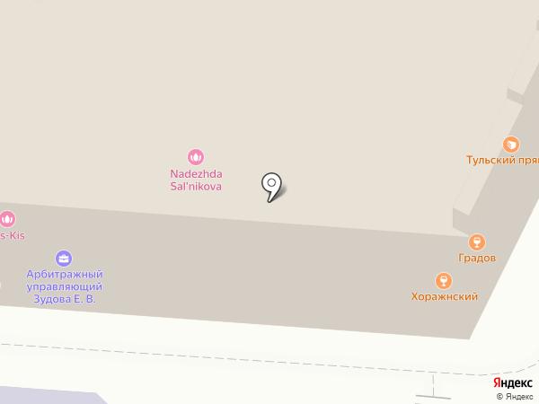 Купец на карте Тулы