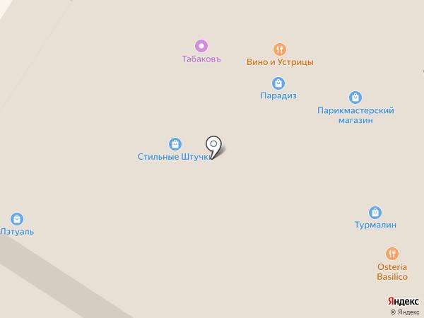 Зелёнка на карте Тулы