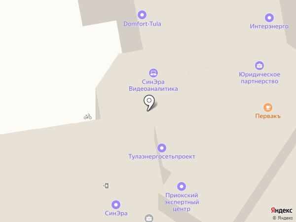 ПервакЪ на карте Тулы